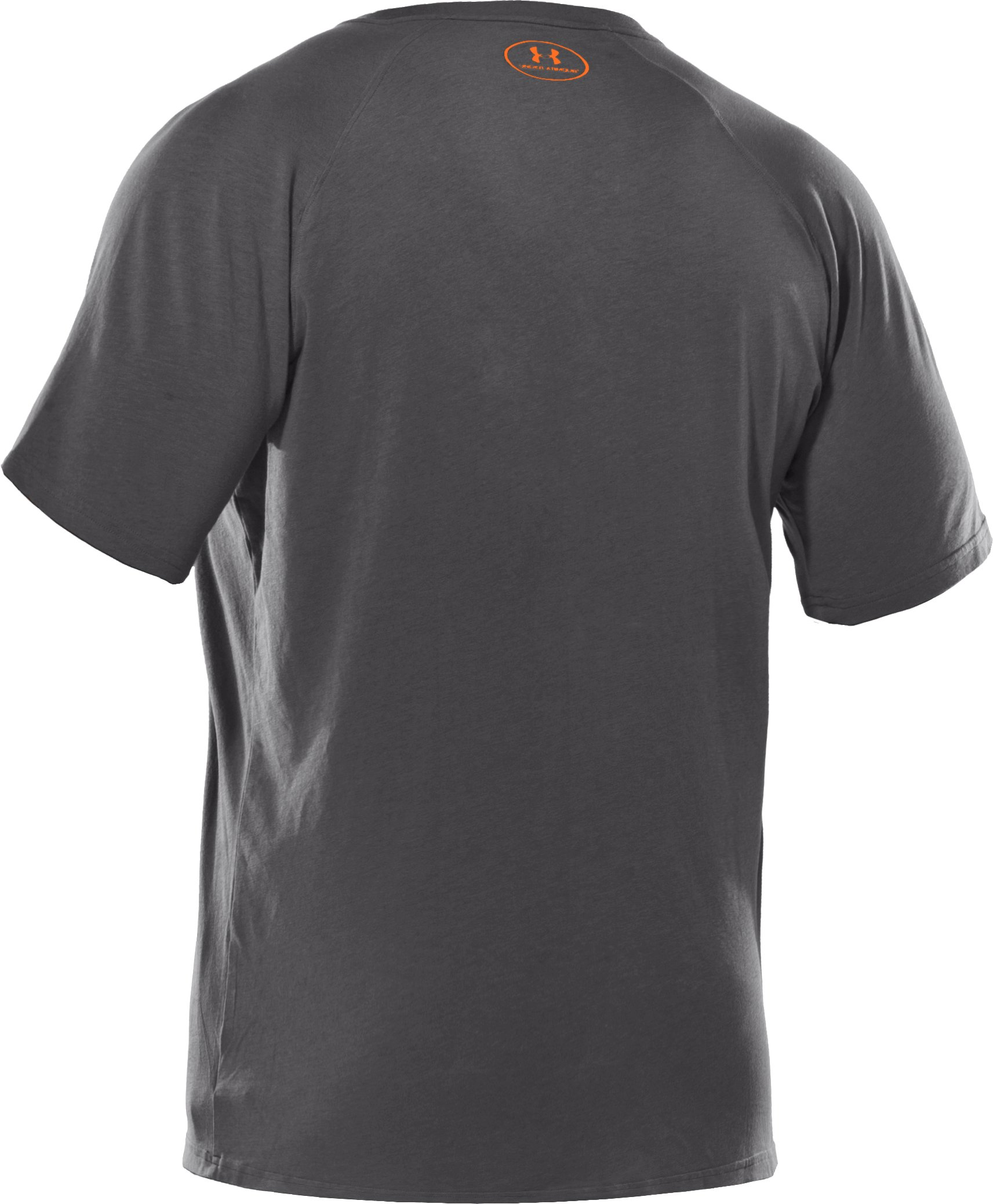 Men's Charged Cotton® V-Neck T-Shirt, Graphite