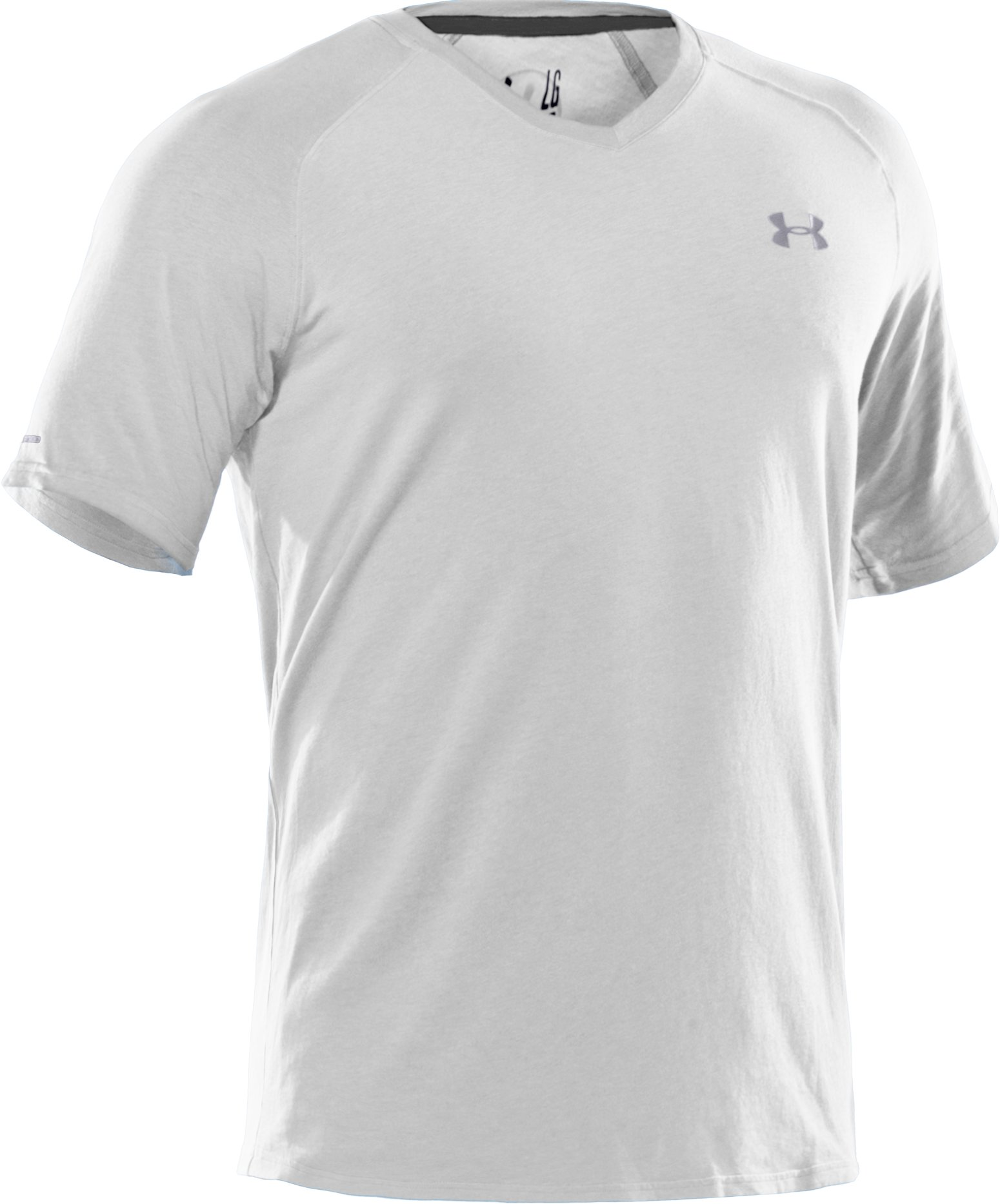 Men's Charged Cotton® V-Neck T-Shirt, White