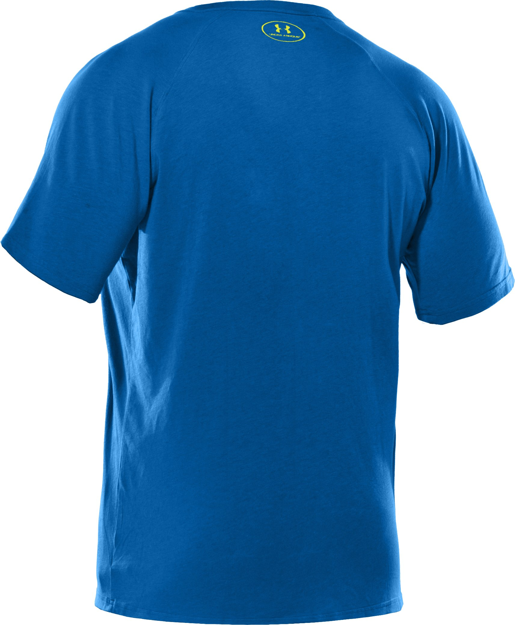 Men's Charged Cotton® V-Neck T-Shirt, SUPERIOR BLUE