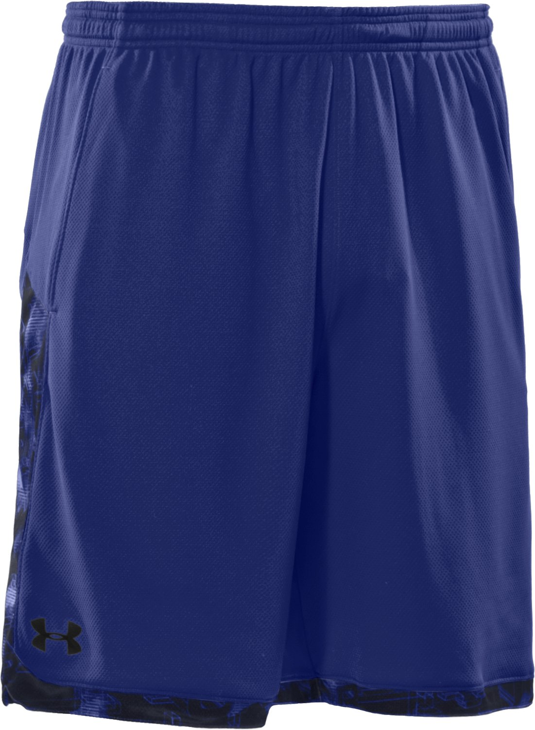 "Men's UA Showprint 10"" Shorts, Bauhaus Blue,"