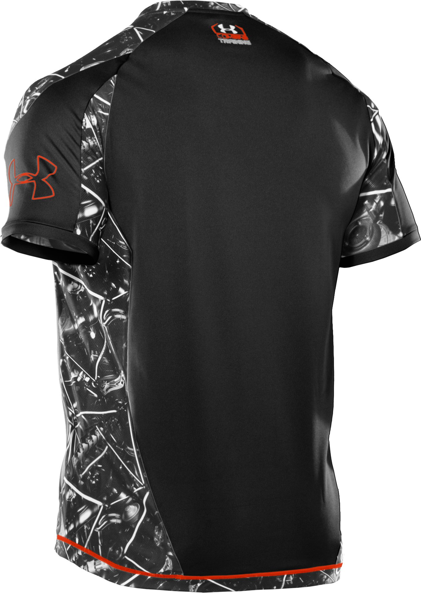 Men's UA Combine® Training Plus Short Sleeve T-Shirt, Black
