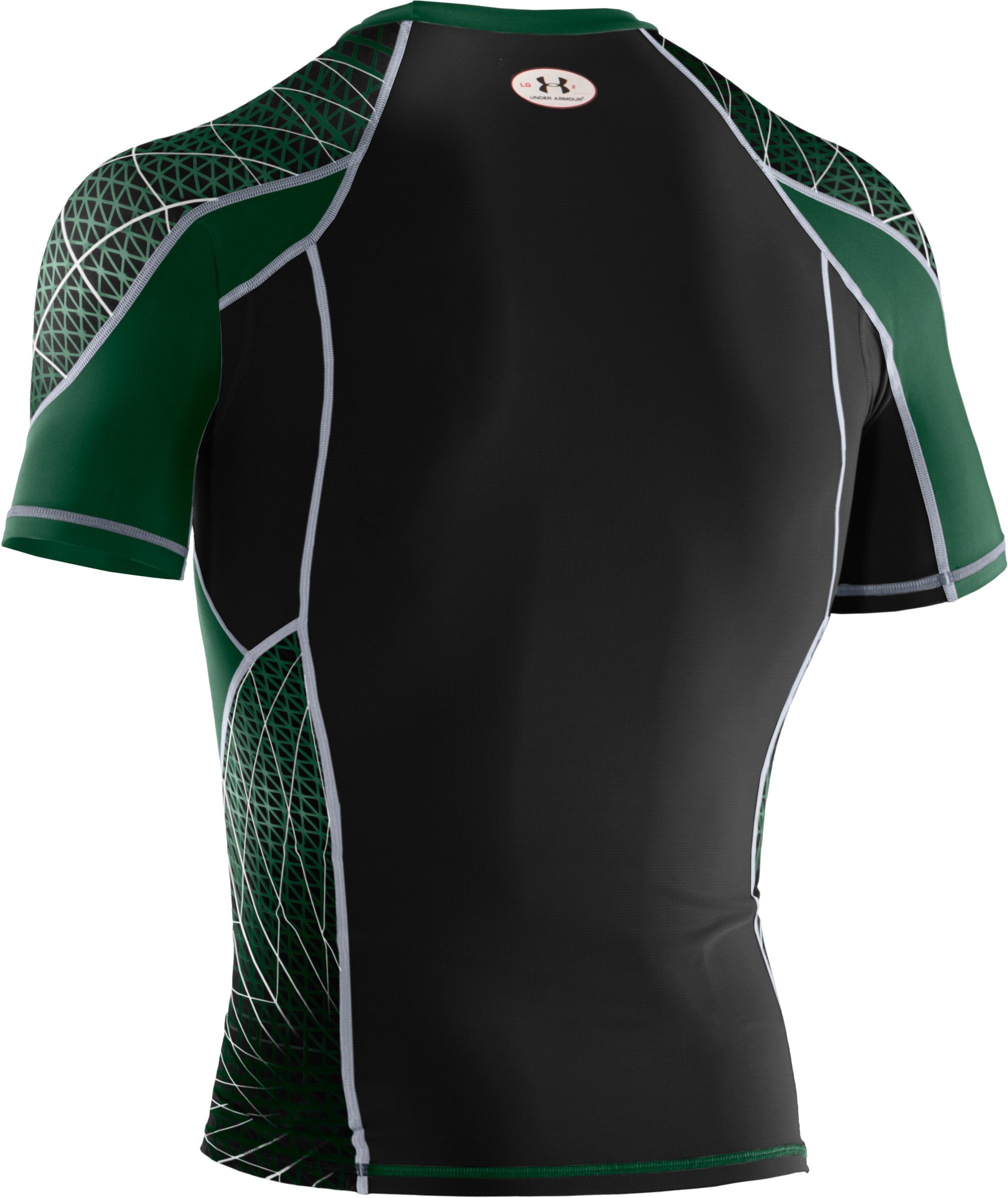 Men's NFL Combine Authentic Warp Speed Short Sleeve, Forest Green, undefined