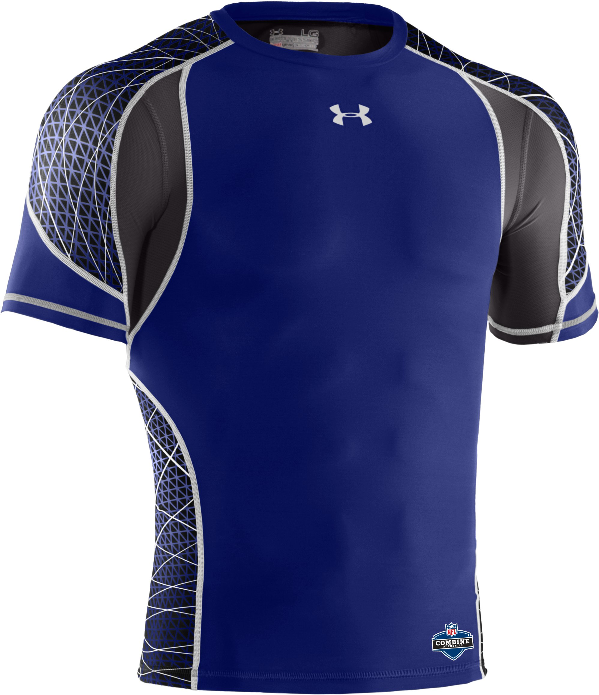 Men's NFL Combine Authentic Warp Speed Short Sleeve, Royal