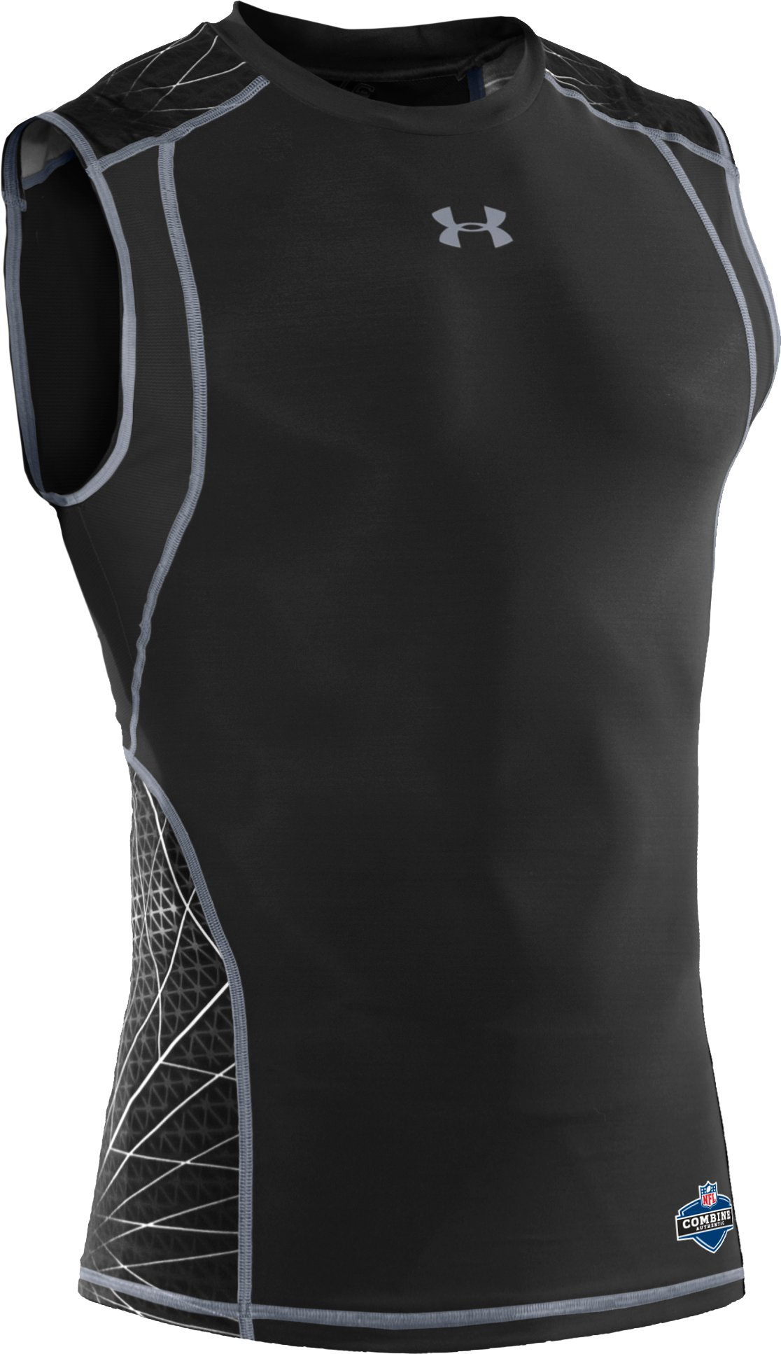 Men's UA Warp Speed Sleeveless Shirt, Black