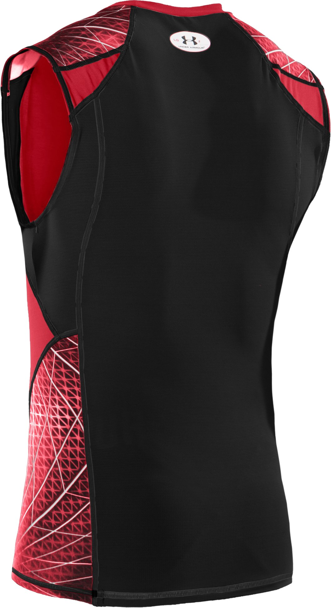Men's UA Warp Speed Sleeveless Shirt, Red
