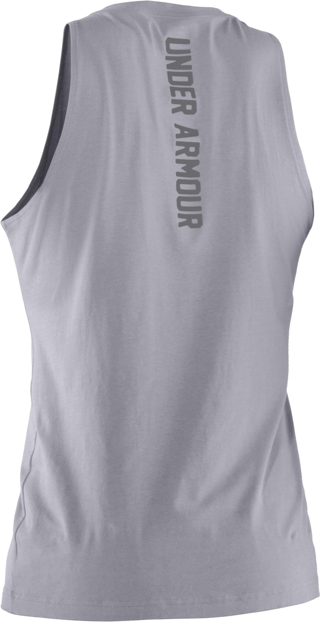 Men's Charged Cotton® Tank, Aluminum