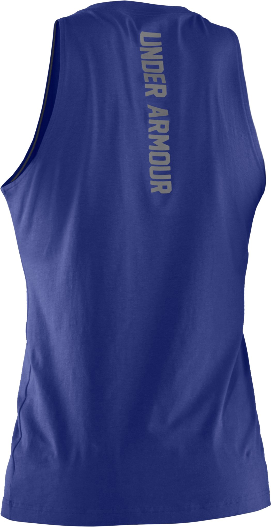 Men's Charged Cotton® Tank, Royal, undefined
