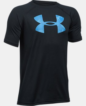 Boys' UA Tech Big Logo Short Sleeve Shirt  3 Colors $22.99