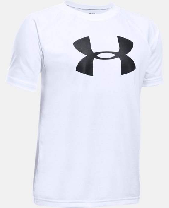 New Arrival Boys' UA Tech™ Big Logo Short Sleeve T-Shirt  23 Colors $14.99 to $19.99