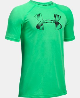 Best Seller Boys' UA Tech Big Logo T-Shirt  4 Colors $14.99