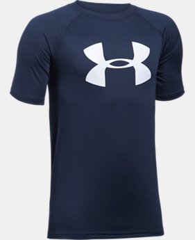 Best Seller Boy's UA Tech™ Big Logo T-Shirt LIMITED TIME: FREE SHIPPING 1 Color $19.99