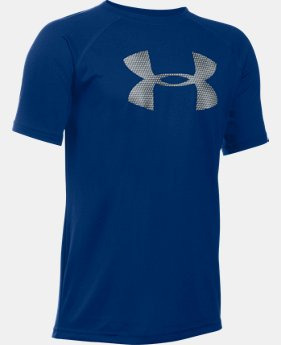 Best Seller Boy's UA Tech™ Big Logo T-Shirt  3 Colors $19.99