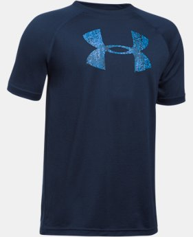 Best Seller Boys' UA Tech Big Logo T-Shirt  3 Colors $11.99 to $14.99