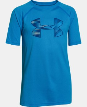 New to Outlet Boy's UA Tech™ Big Logo T-Shirt  1 Color $14.99