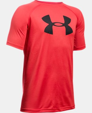 Boy's UA Tech™ Big Logo T-Shirt  1 Color $17.99 to $22.99
