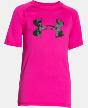 New to Outlet Boy's UA Tech™ Big Logo T-Shirt  4 Colors $11.99 to $14.99