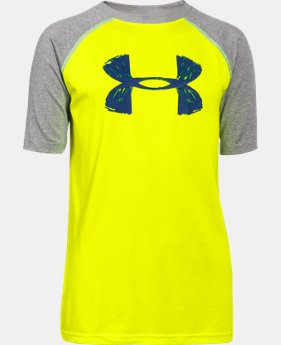 New to Outlet Boy's UA Tech™ Big Logo T-Shirt  2 Colors $11.99 to $14.99
