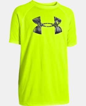 New to Outlet Boys' UA Tech™ Big Logo Short Sleeve T-Shirt LIMITED TIME: FREE U.S. SHIPPING  $11.99 to $19.99
