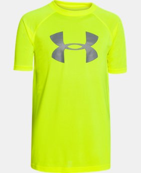 Boy's UA Tech™ Big Logo T-Shirt  2 Colors $14.99 to $19.99