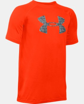 New to Outlet Boys' UA Tech™ Big Logo Short Sleeve T-Shirt LIMITED TIME: FREE U.S. SHIPPING 1 Color $14.99