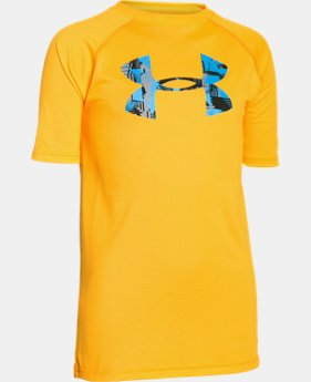 Boy's UA Tech™ Big Logo T-Shirt  3 Colors $22.99
