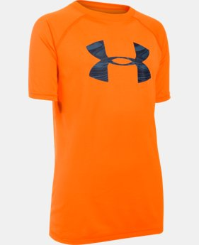 New Arrival Boys' UA Tech™ Big Logo Short Sleeve T-Shirt   $14.99 to $19.99