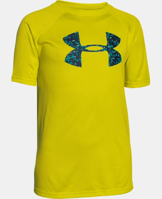 New to Outlet Boy's UA Tech™ Big Logo T-Shirt LIMITED TIME: FREE SHIPPING 1 Color $14.99
