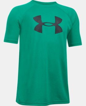 Boys' UA Tech™ Big Logo Short Sleeve T-Shirt  4 Colors $16.49 to $17.24