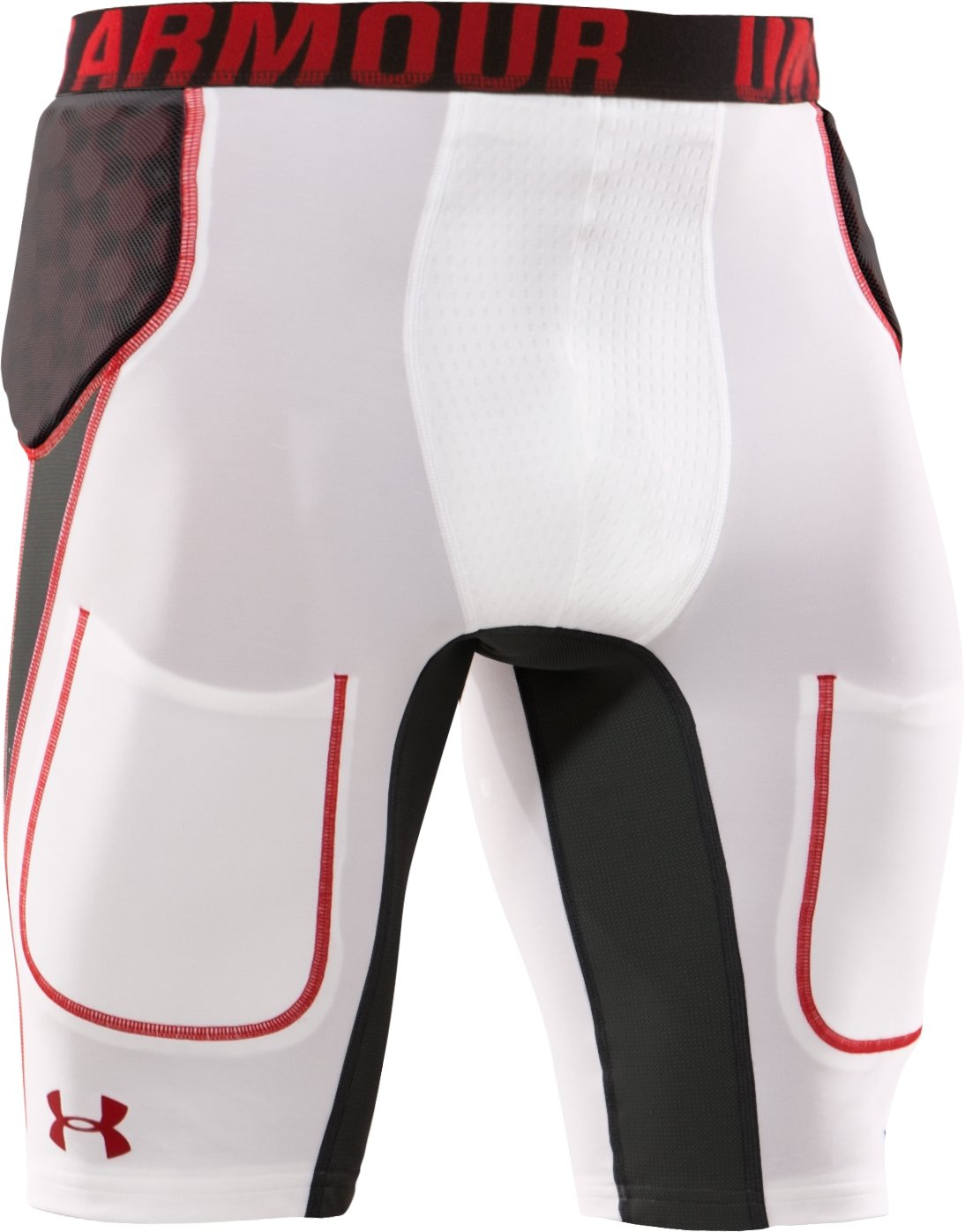 Men's 3-Pad MPZ® Stealth 5mm Girdle, White