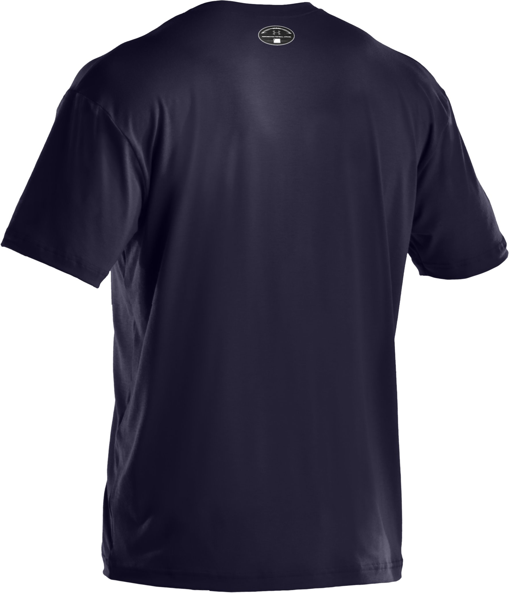 Men's UA Football Graphic T-Shirt, Midnight Navy, undefined