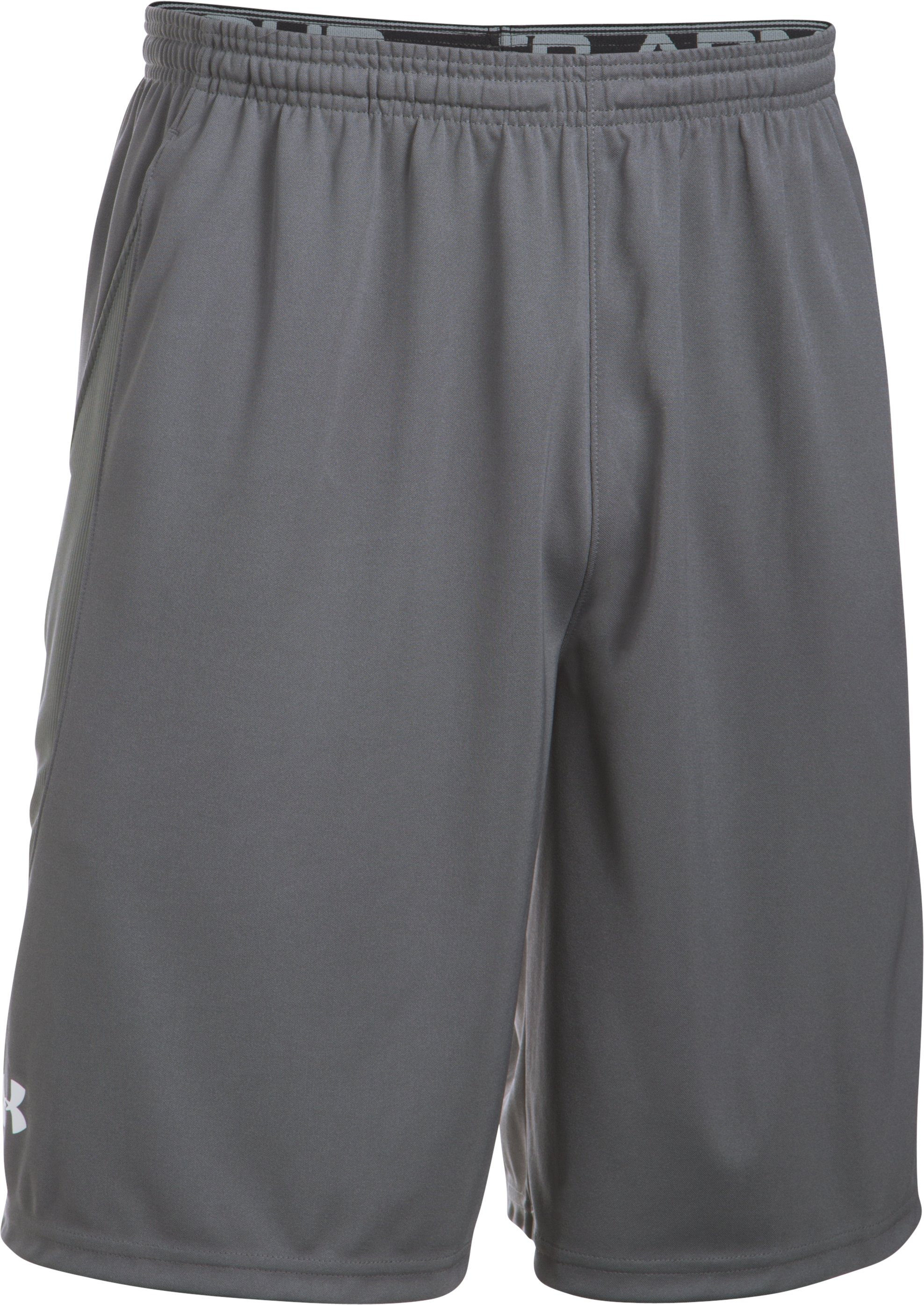 UA Team Coaches Short, Graphite