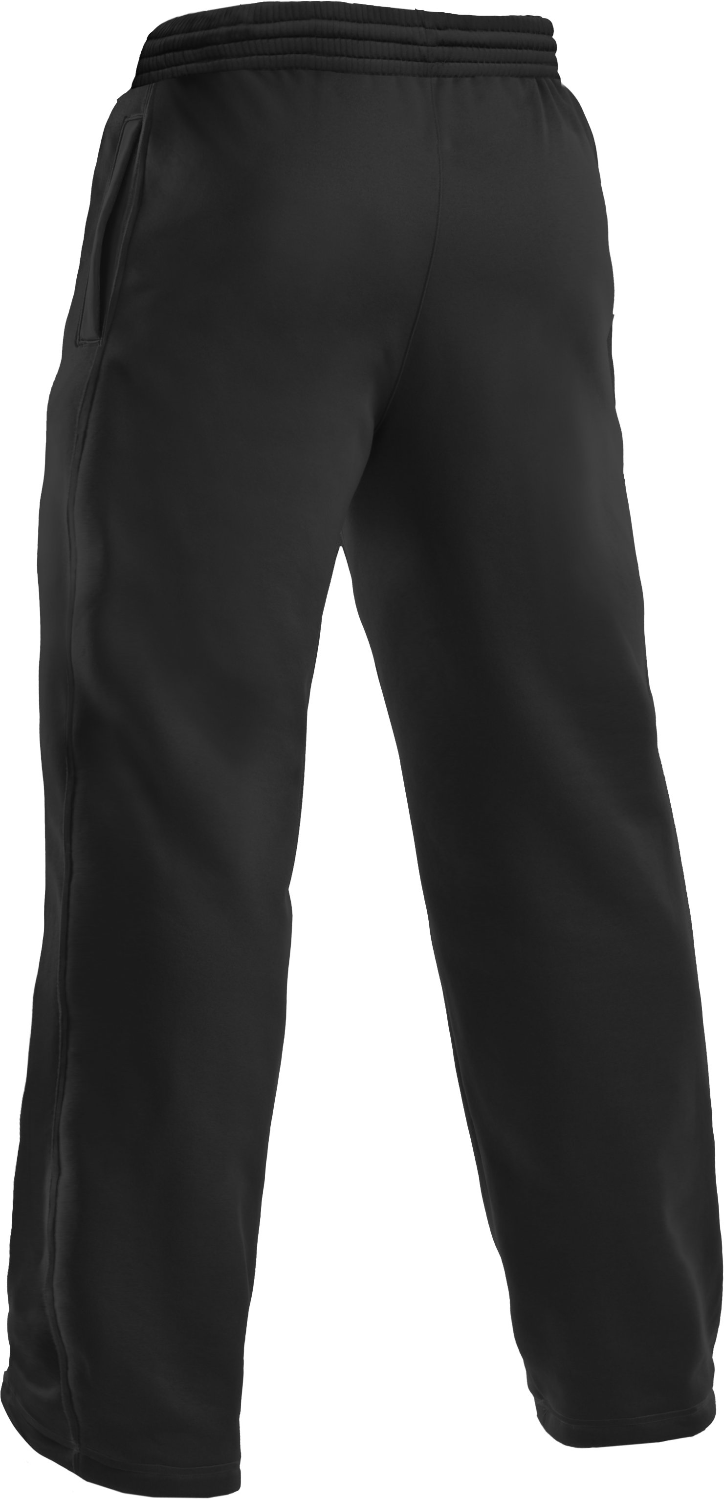 Men's Armour Fleece® Team Pants, Black ,
