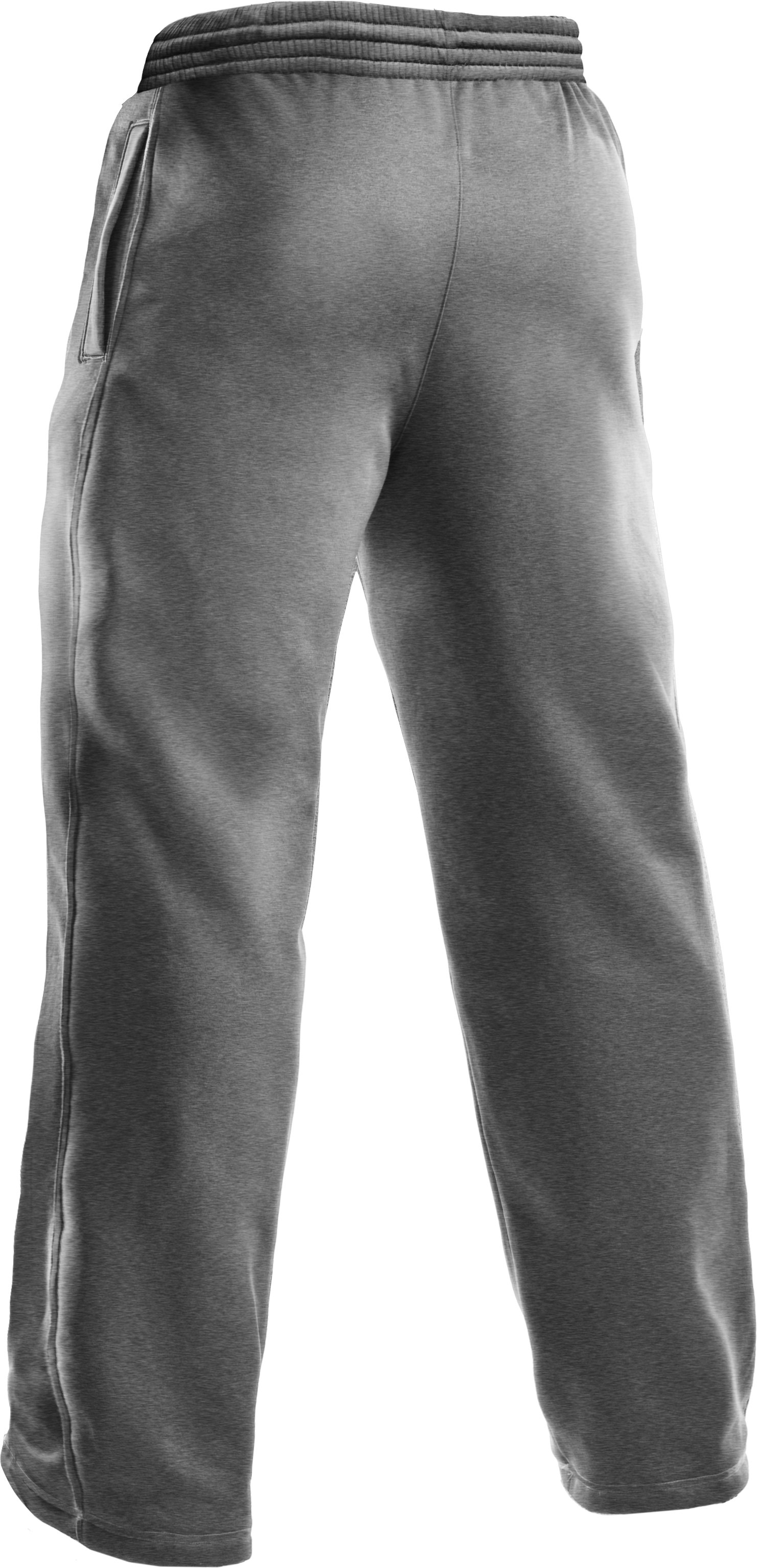 Men's Armour® Fleece Team Pants, True Gray Heather
