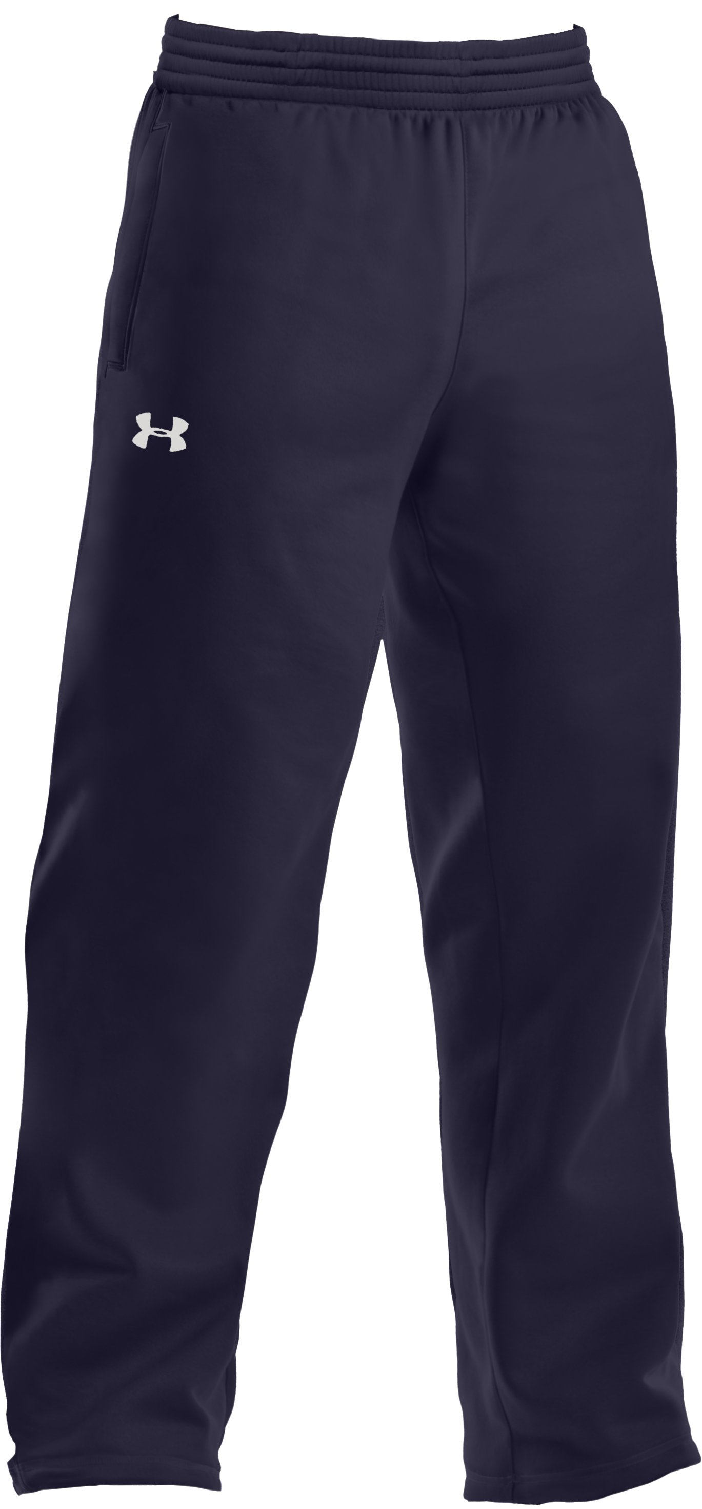 Men's Armour® Fleece Team Pants, Midnight Navy