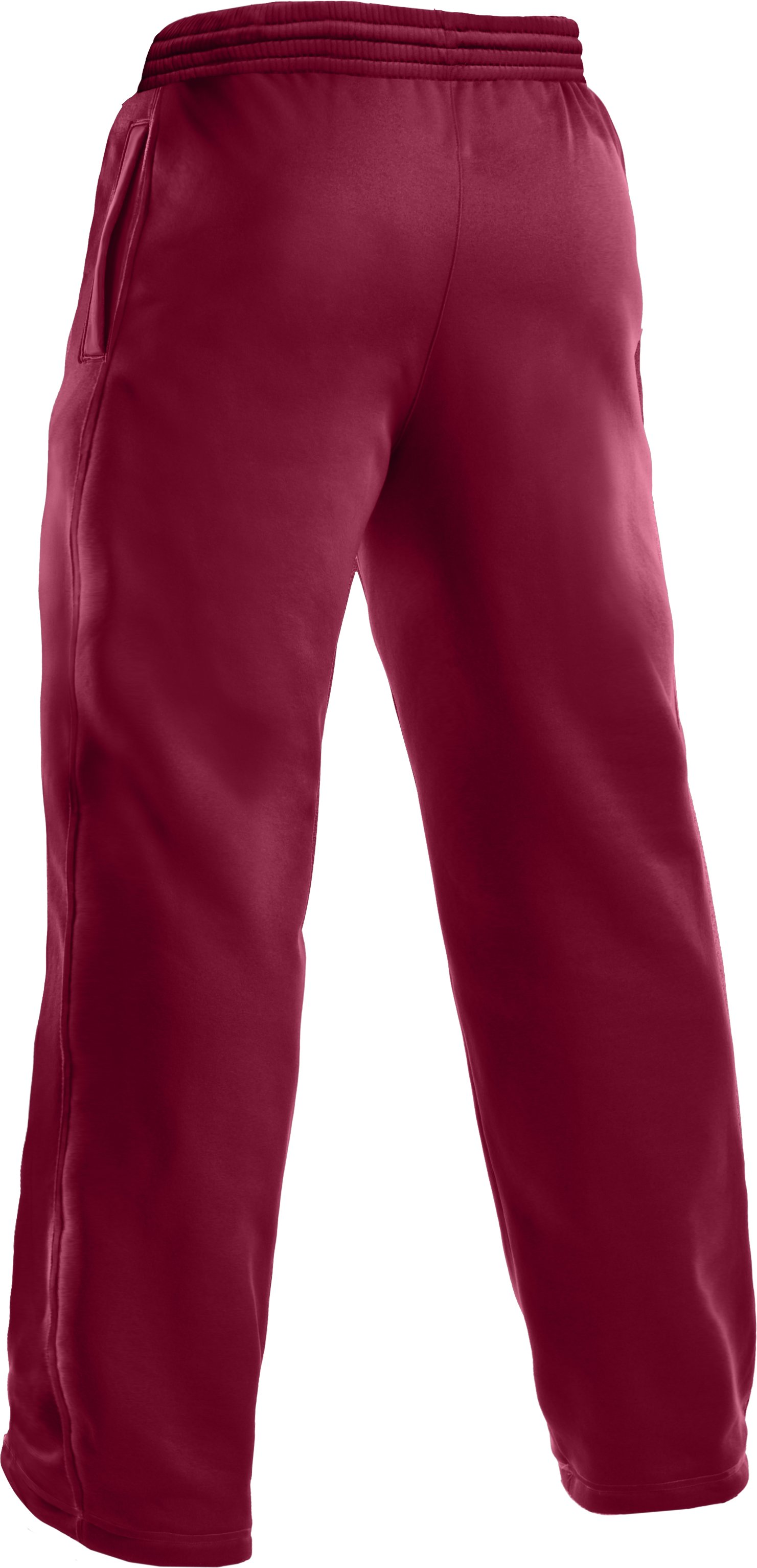 Men's Armour Fleece® Team Pants, Maroon,