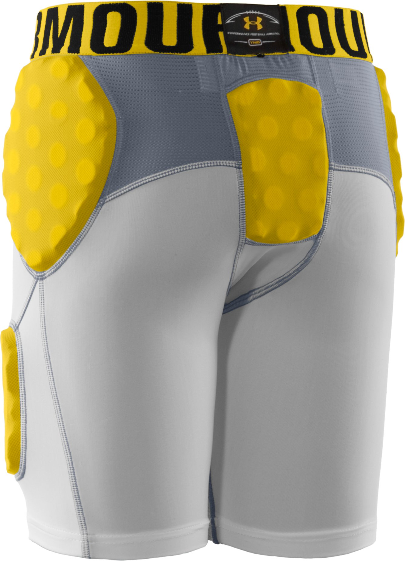Boys' MPZ® 5-Pad Armour® Girdle, White