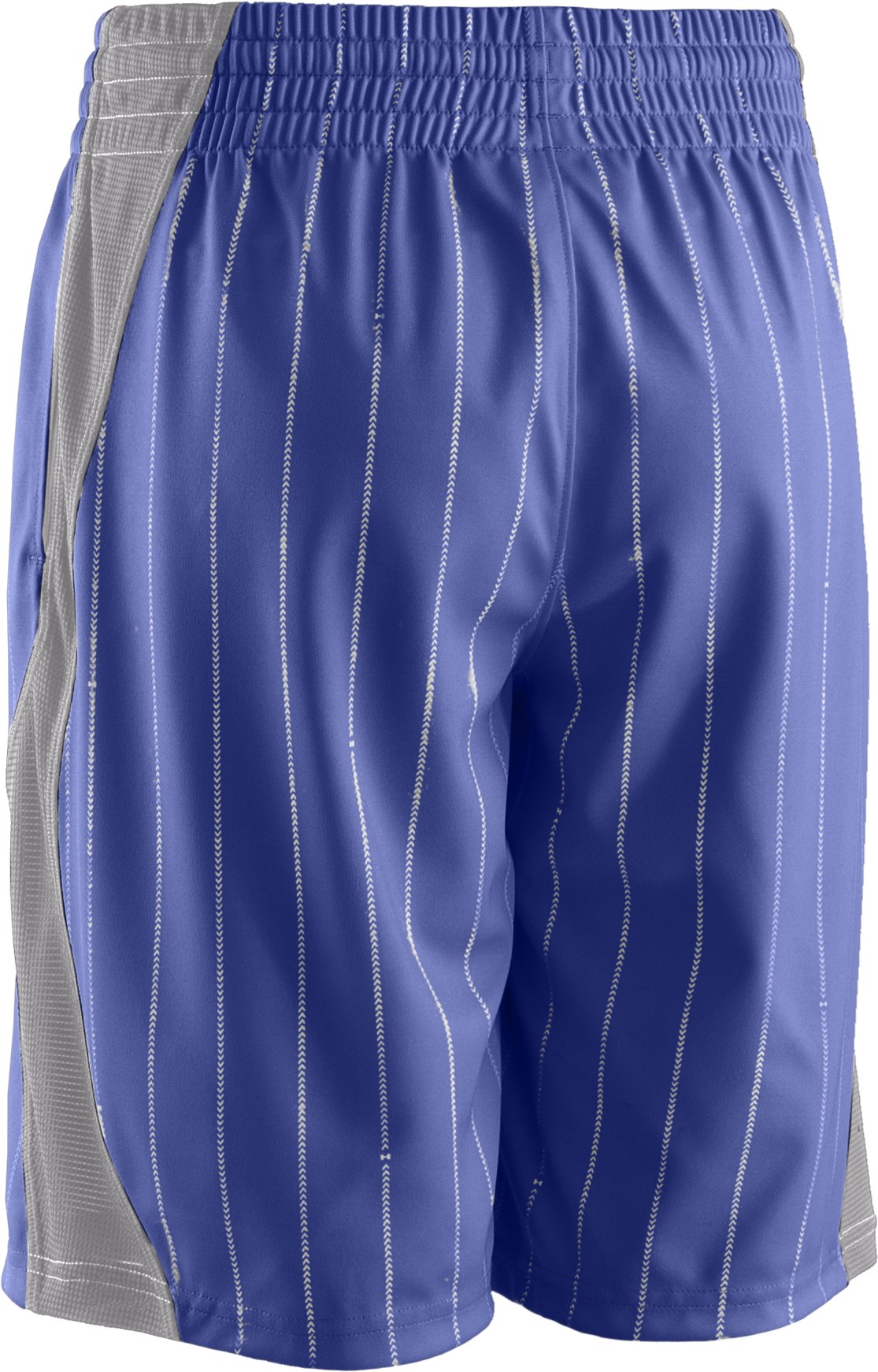 Boys' UA CTG Pinstripe Baseball Shorts, Royal