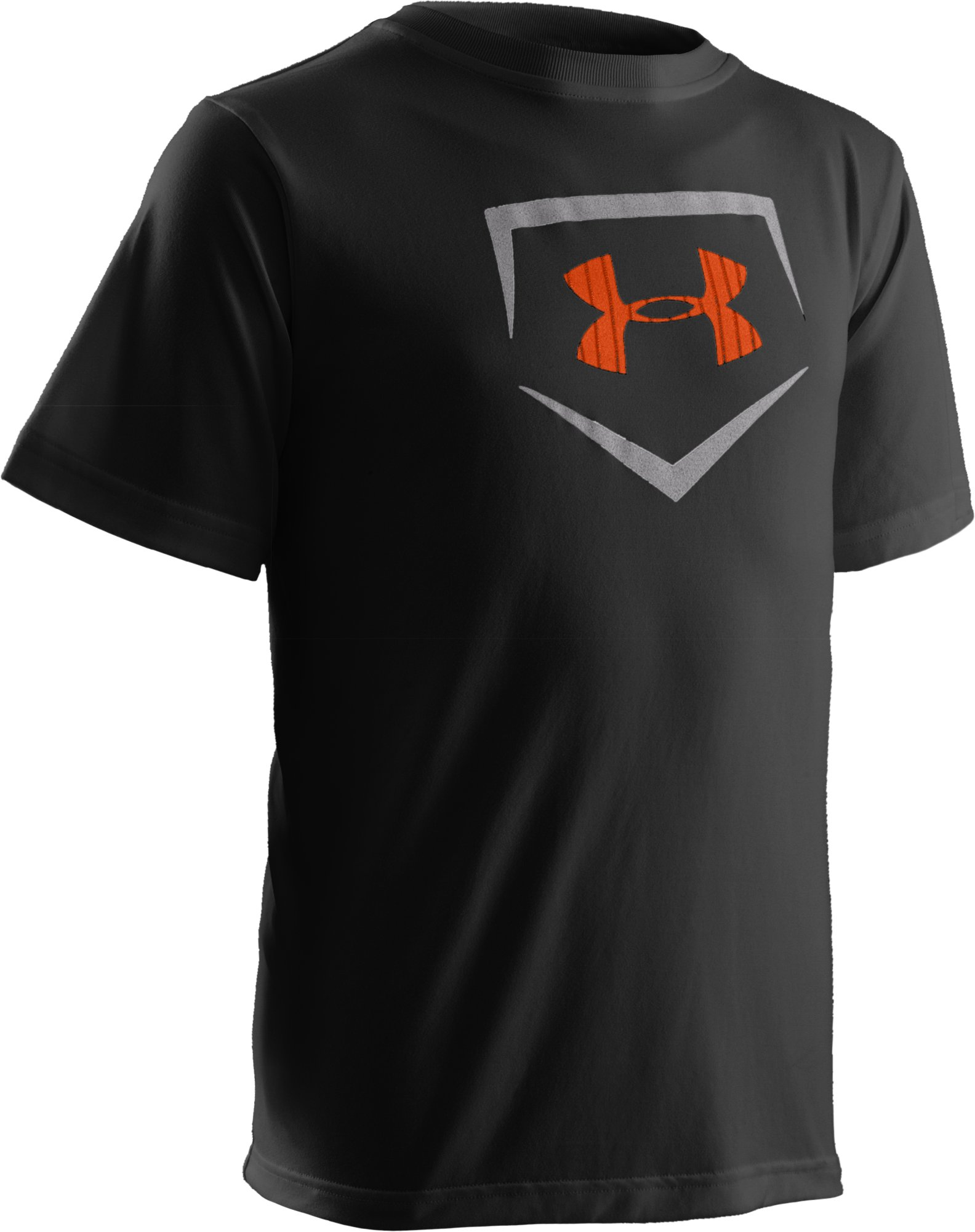 Boys' UA CTG Short Sleeve Graphic T-Shirt, Black