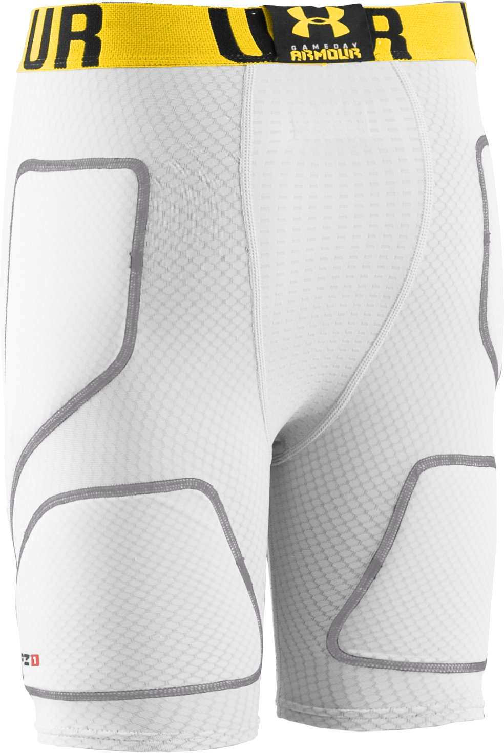 Boys' UA Natural Slider Shorts & Cup Combo, White