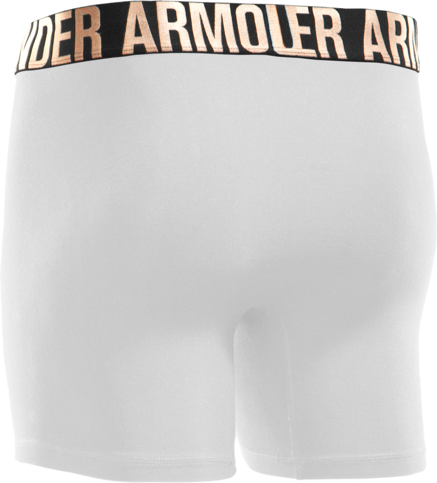 "Men's UA Elite 6"" Boxerjock® Boxer Briefs, White,"