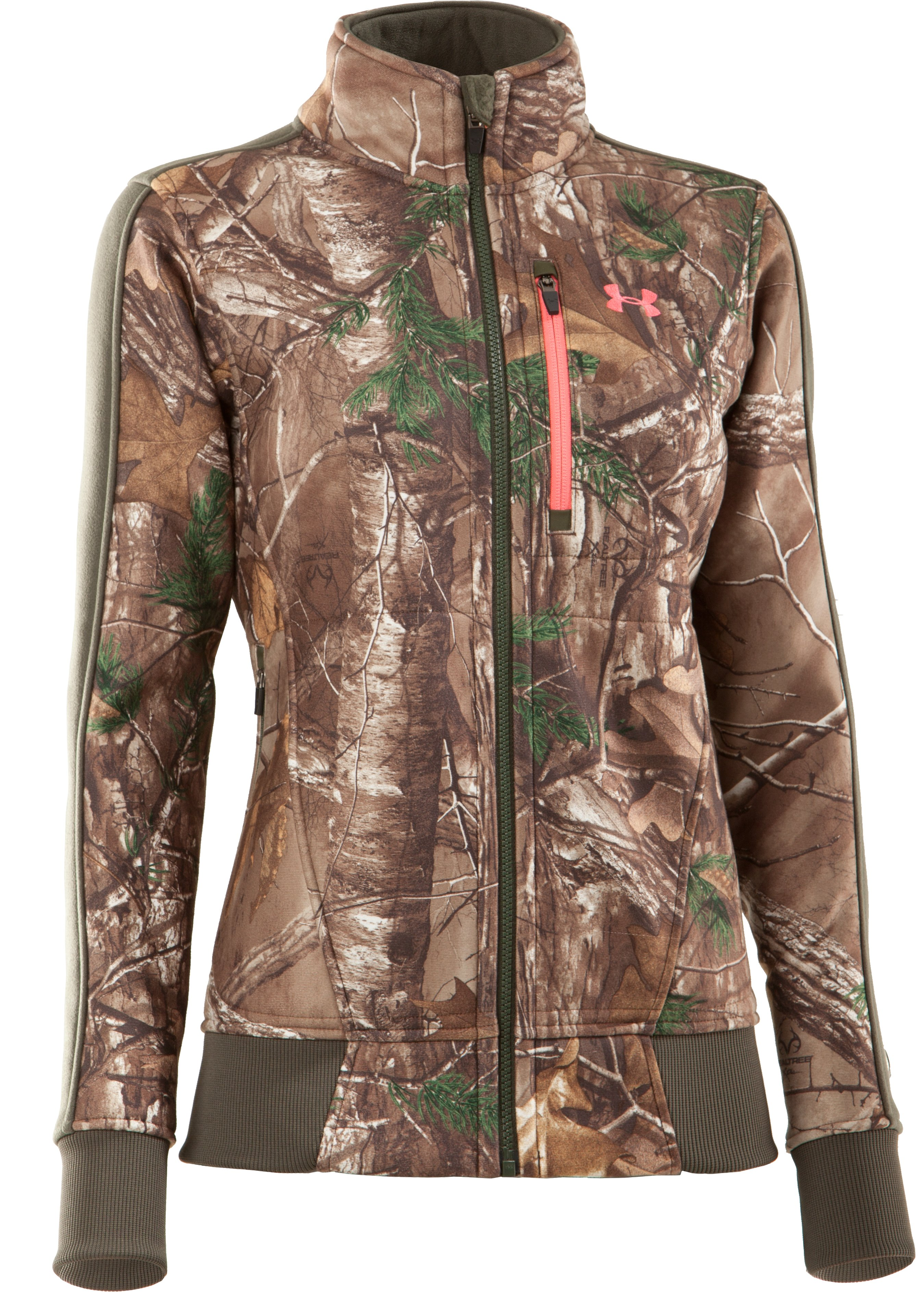 Women's Ayton Fleece Jacket, REALTREE AP-XTRA, undefined