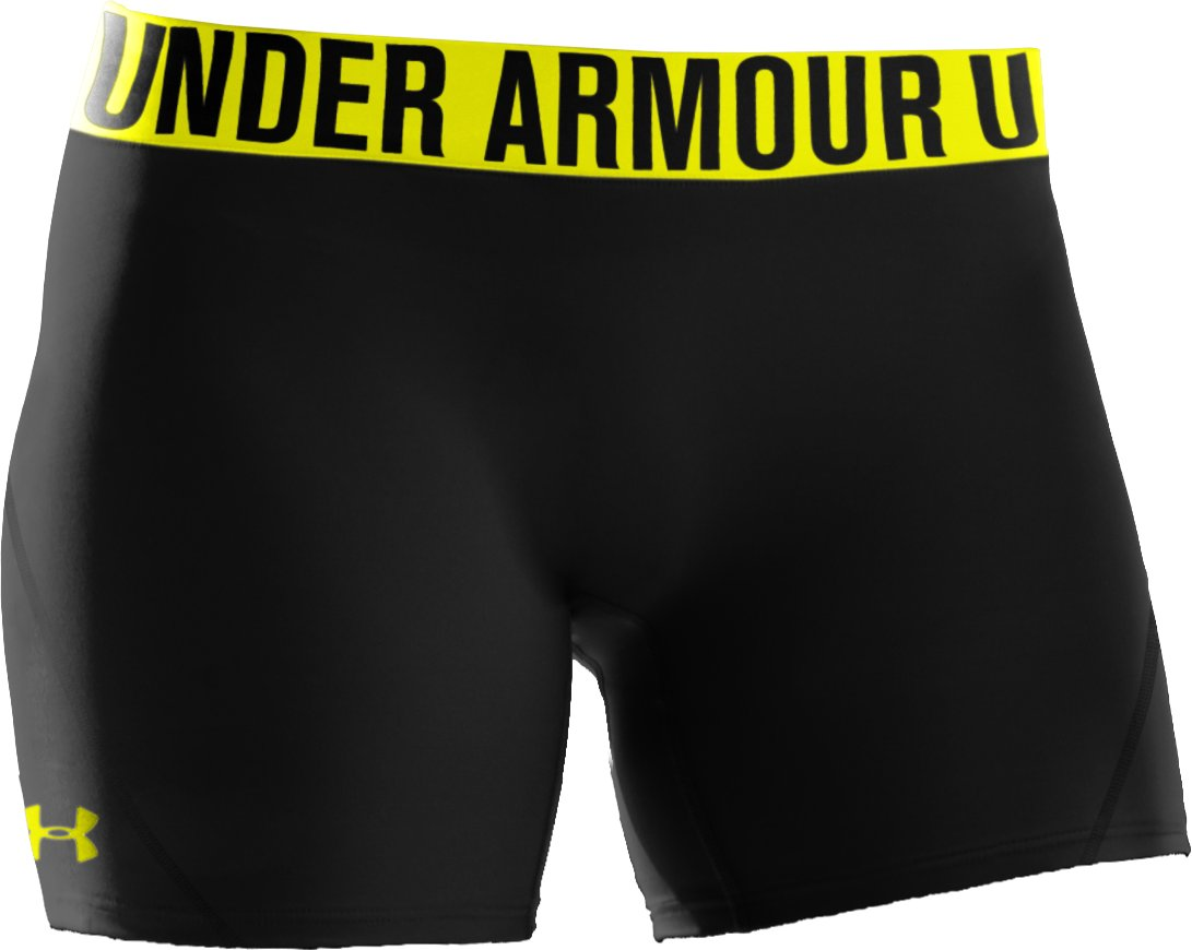 "Women's UA Block It 3"" Shorts, Black"