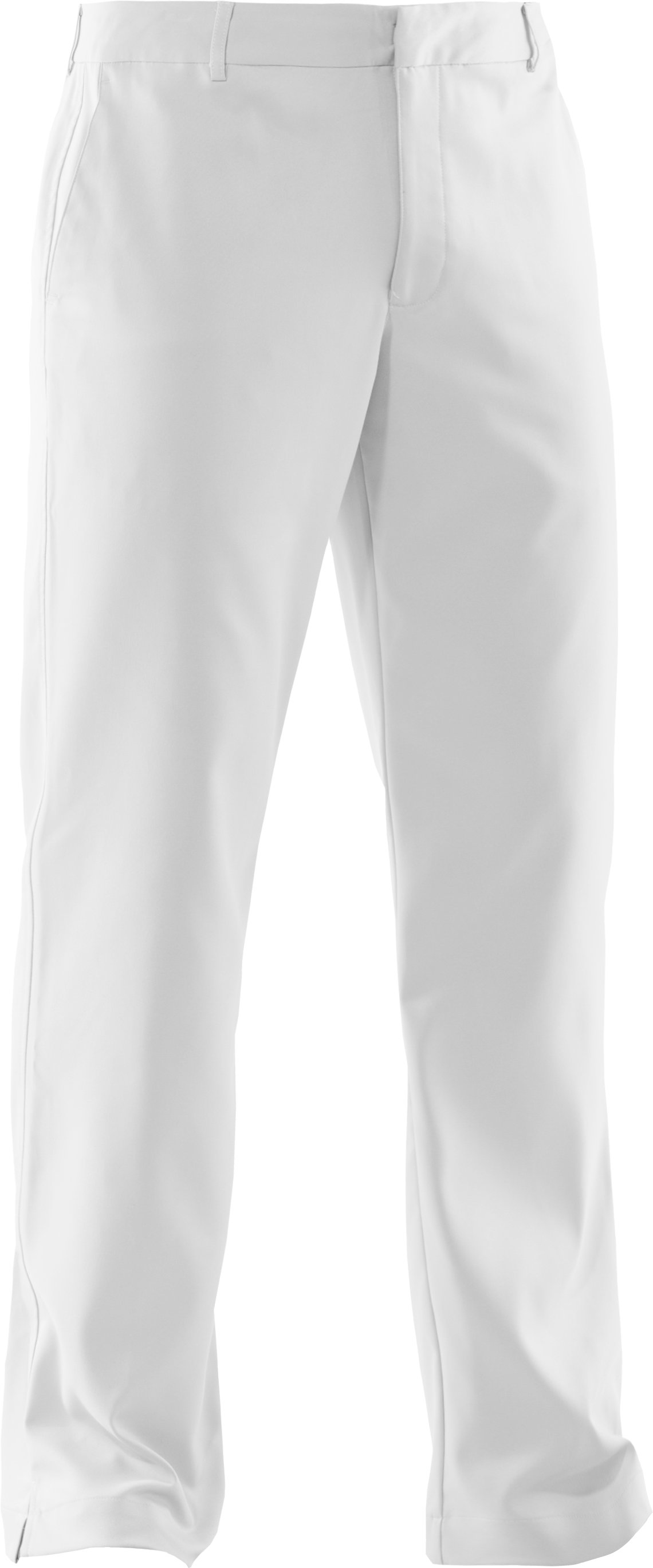 Men's UA Performance AllSeasonGear® Pants, White, undefined