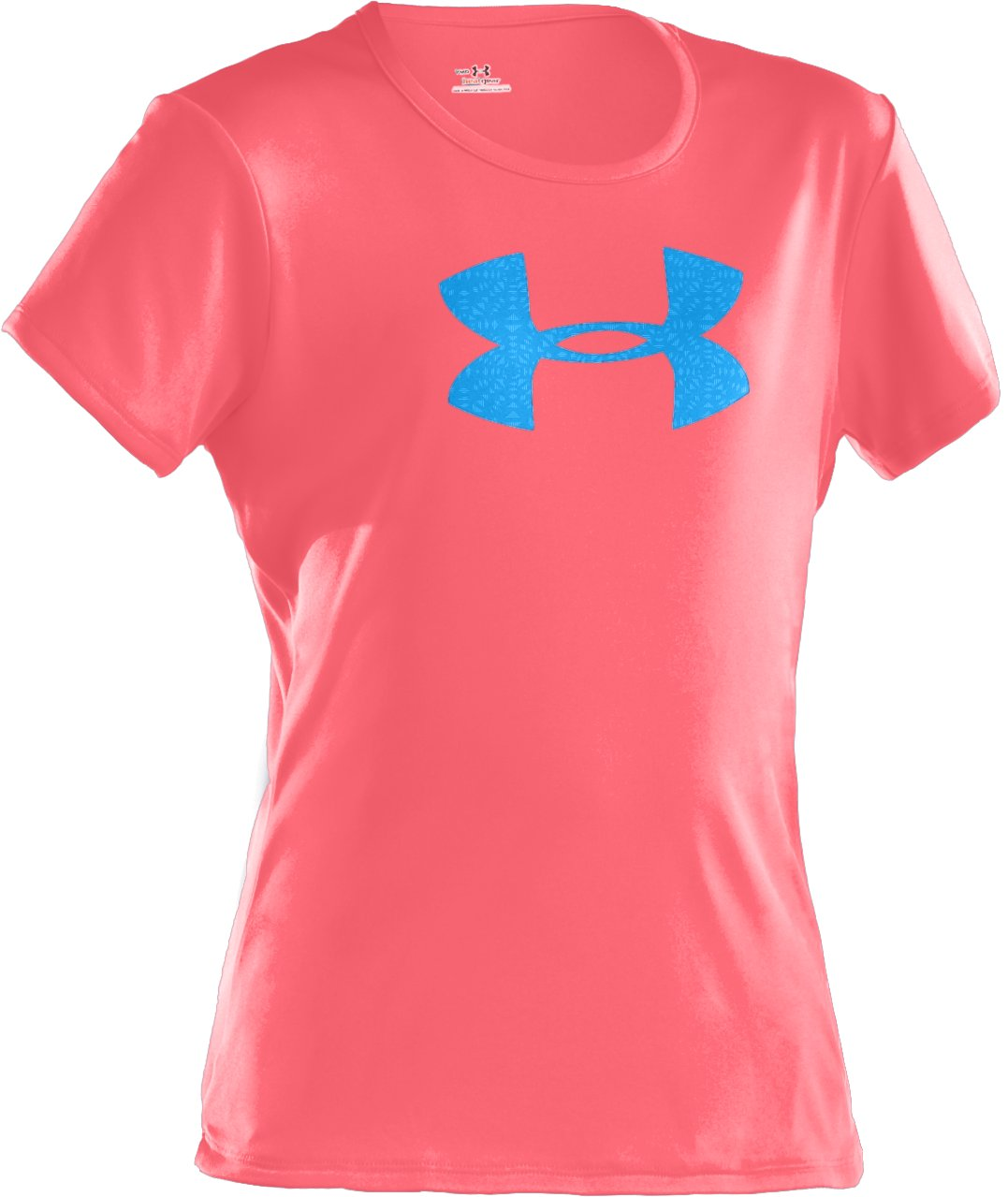 Girls' UA Big Logo Short Sleeve T-Shirt, BRILLIANCE, zoomed image