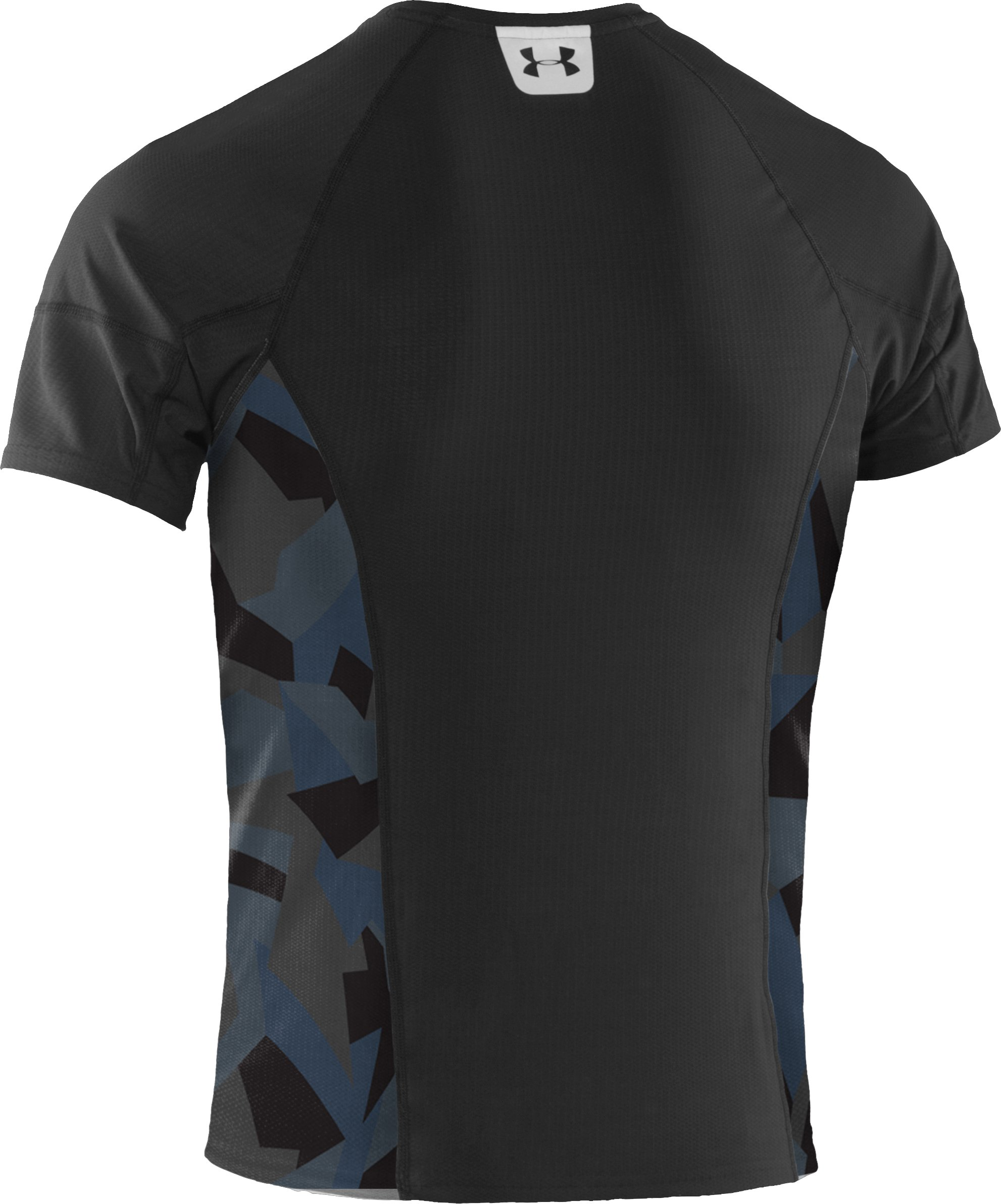 Men's UA Tough Run Short Sleeve T-Shirt, Black , undefined