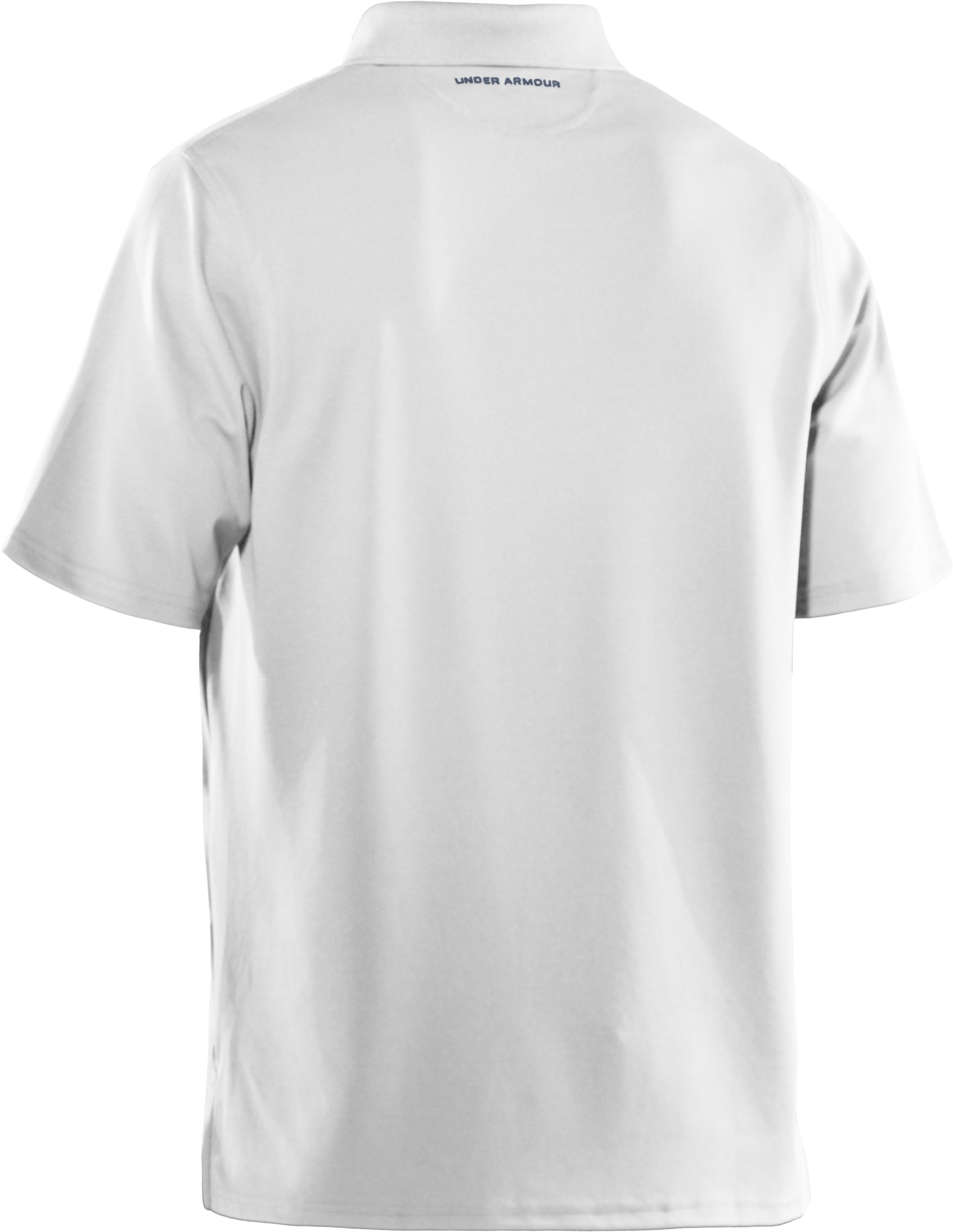 Men's UA Performance Antler Logo Polo, White