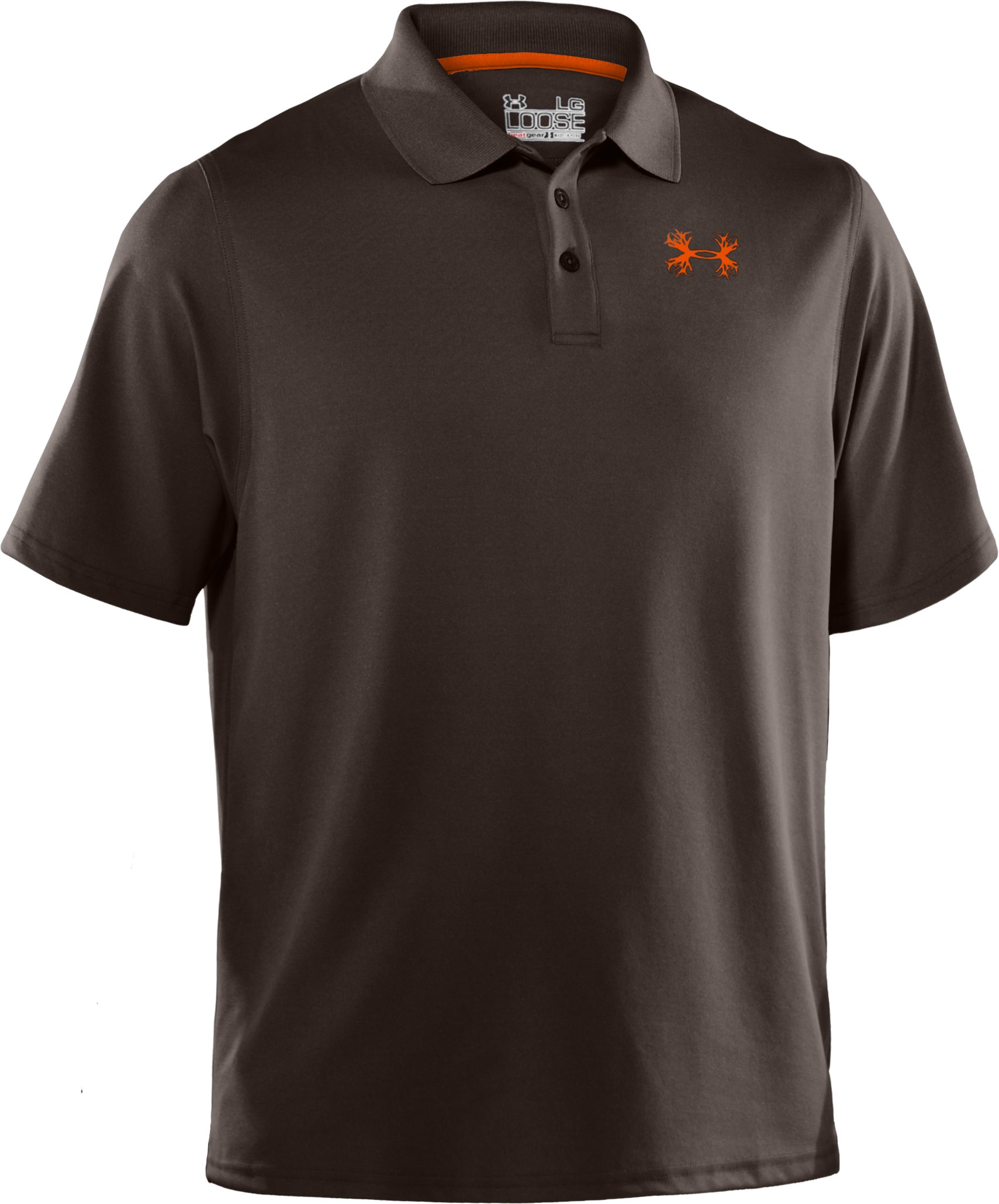 Men's UA Performance Antler Logo Polo, Bureau