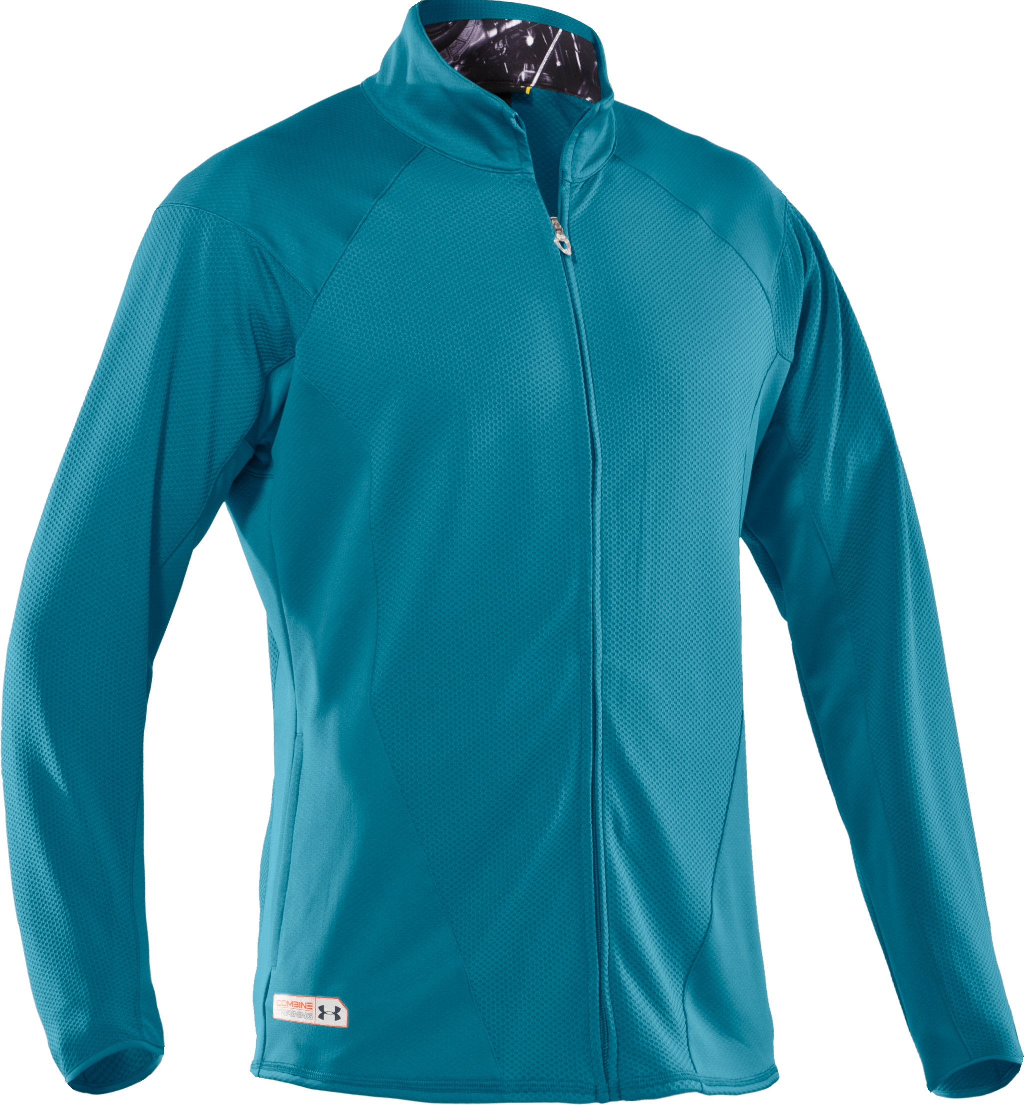 Men's UA Combine® Training Warm-Up Jacket, Capri,