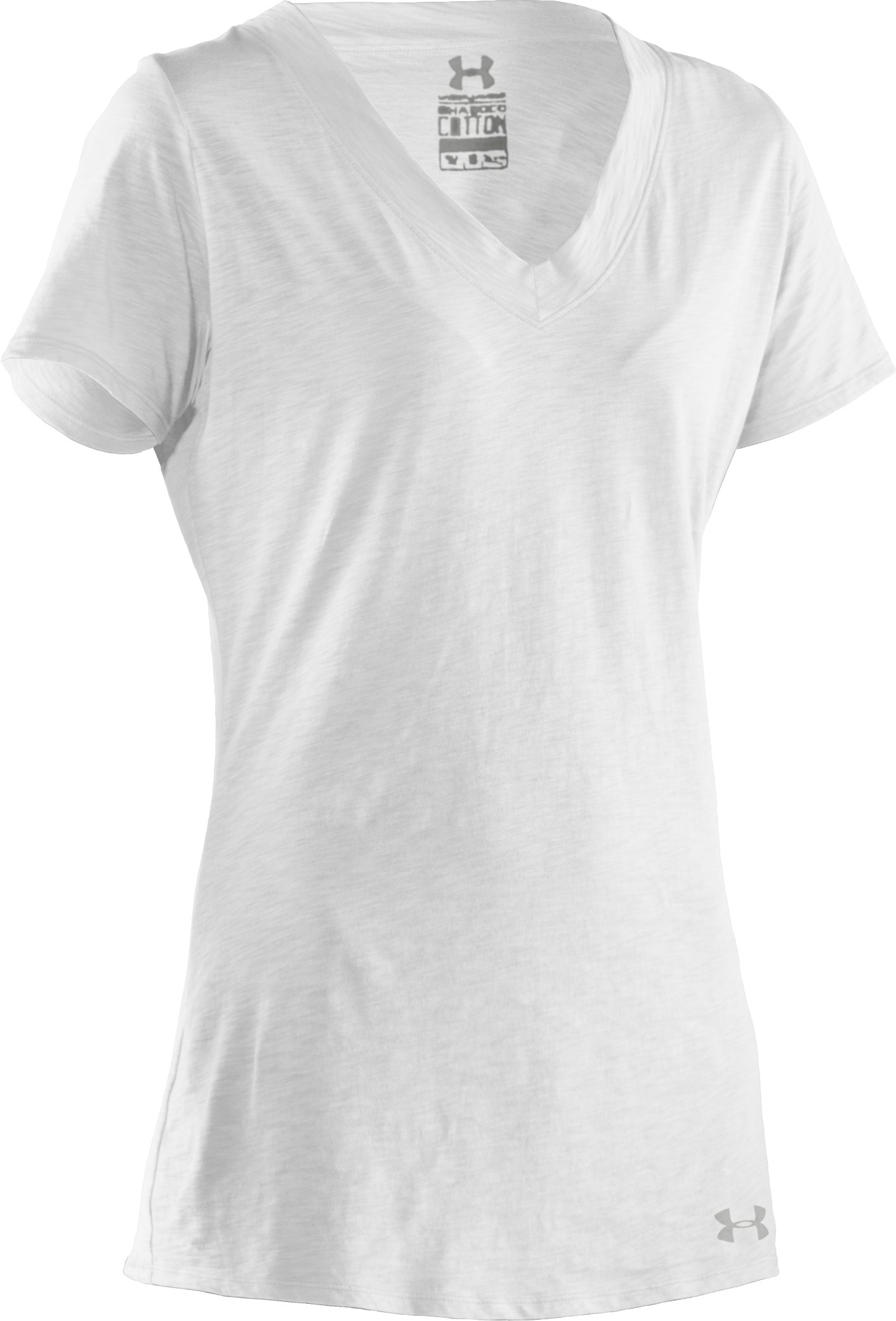 Women's Charged Cotton® Slub T-Shirt, White
