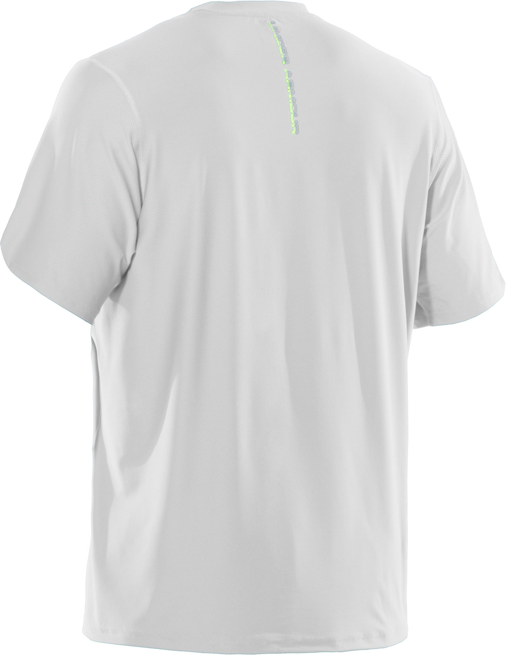 Men's UA Run HeatGear® Short Sleeve T-Shirt, White